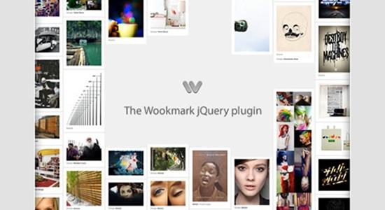 12. Wookmark JQuery Plugin