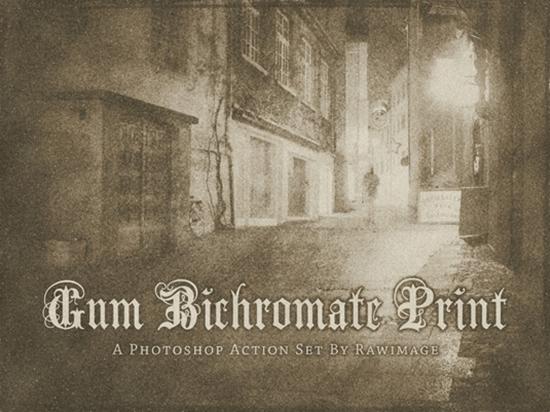 21. Gum Bichromate Print
