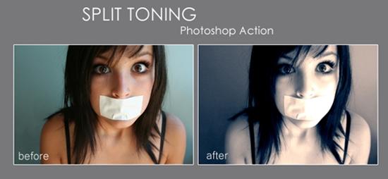 26. Split Toning Action
