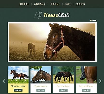 Horse WordPress Theme