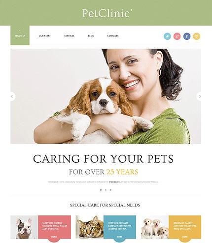 Successful Animals and Pets WordPress Theme