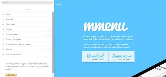 http://designposts.net/11-free-jquery-css3-navigation-menu-plugins/
