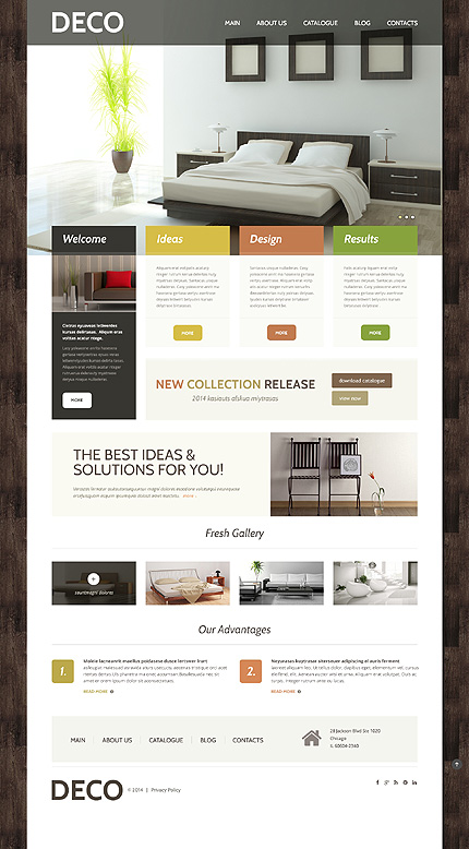 Interior Design WordPress Themes