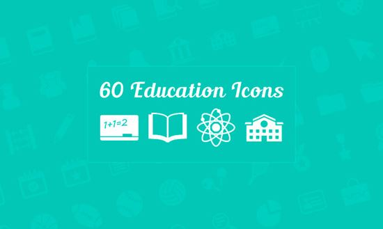 60 Education Vector Icons