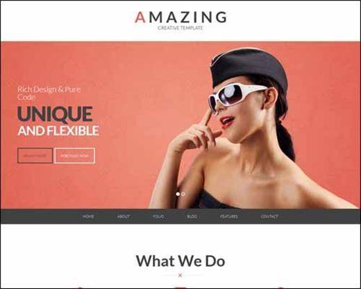Amazing Multi Purpose WordPress Portfolio Theme