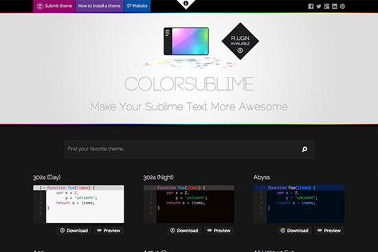 ColorSublime