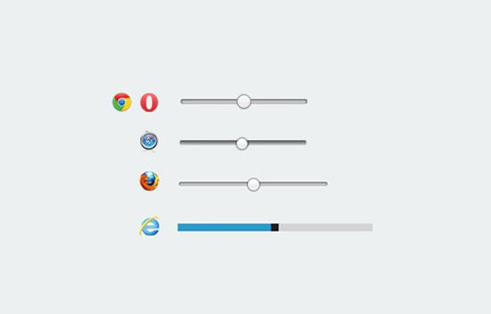 How To Style HTML5 Range Slider Across Multiple Browsers