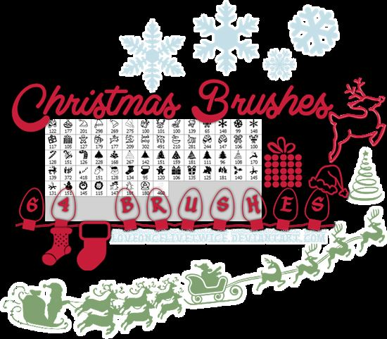 christmas_brushes_7