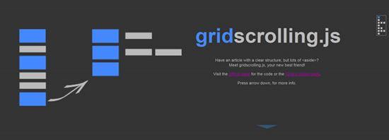 gridscrolling