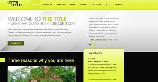 Black Market - HTML template