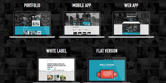Element - Flexible One Page Template
