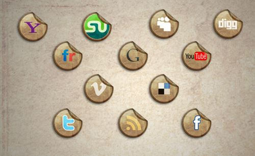 "How To Create A Grungy And ""Sticky"" Icon With Photoshop"