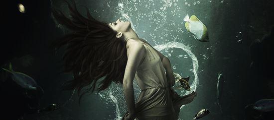 Making a Beautiful Scene under Water