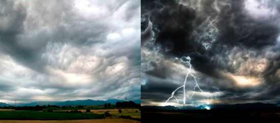 Making a Natural Lightning Storm