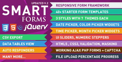 Smart Forms with jQuery Html5 & CSS3