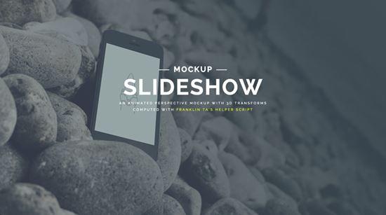 Perspective Mockup Slideshow