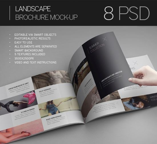 40 Free PSD Magazine, Cover, Book & Brochure Mockup
