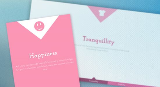 CSS-only Responsive Layout with Smooth Transition