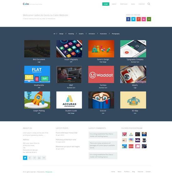Design Showcase HTML Portfolio