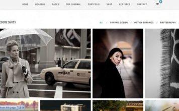 Finch – Photography & Magazine WordPress Theme