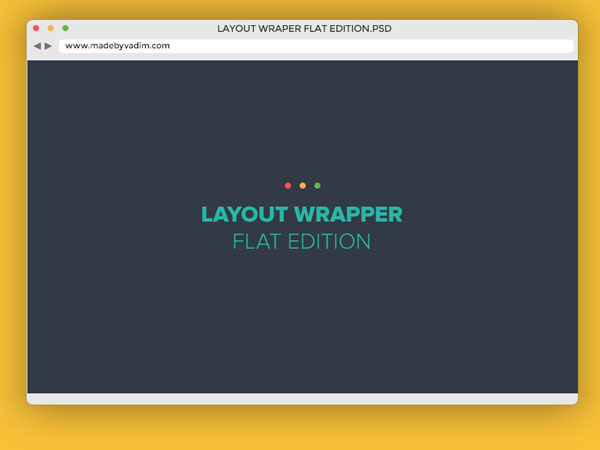 Flat Layout Wrapper