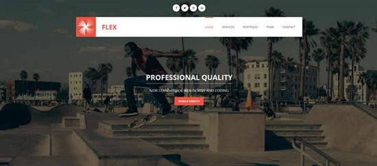 Flex-html5-templates