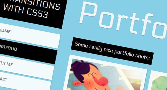 PageTransitions with CSS3
