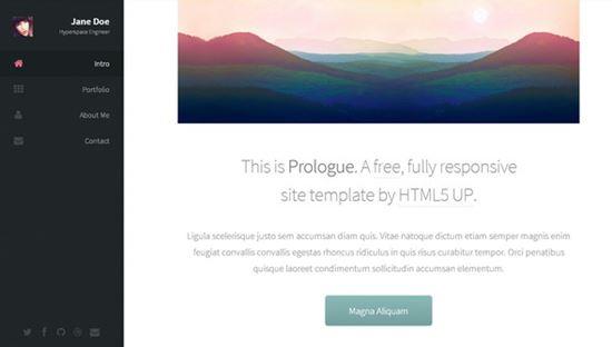 Prologue – HTML5