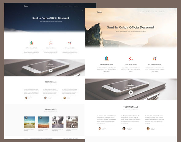 Sublime – HTML5-CSS3 Website Template