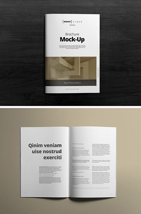 40 Free Psd Magazine Cover Book Amp Brochure Mockup