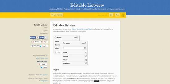 Editable Listview