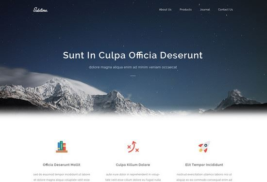 100 Best Free HTML CSS Website Templates