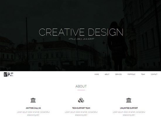 Free-HTML-CSS-Website-Templates-27