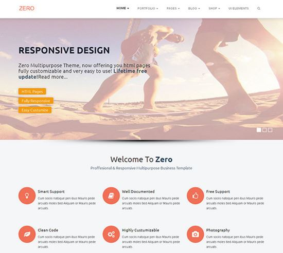 free html css website templates 28 - Best Free Website Templates
