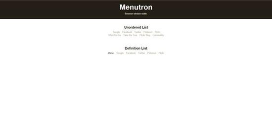 Menutron1