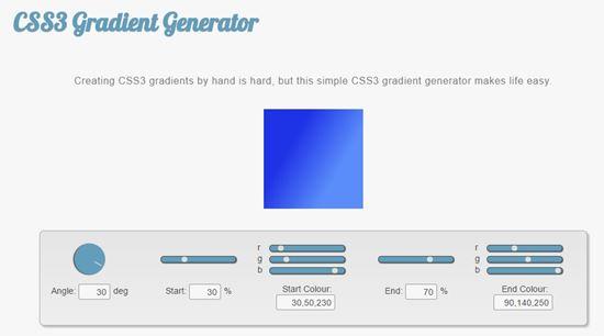 CSS3 gen