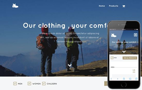 free html5 website templates-20
