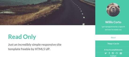 free html5 website templates-5