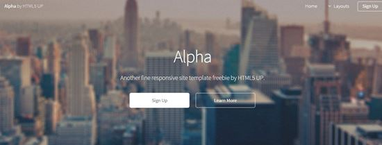 free html5 website templates-6