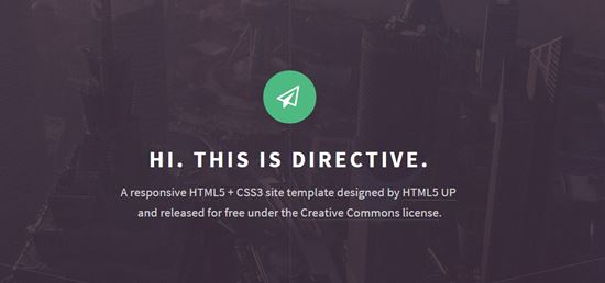 free html5 website templates-7