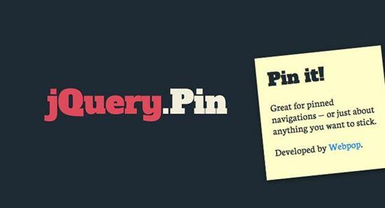 jQuery Pin