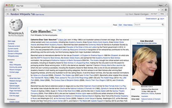 20) Random Wikiepedia
