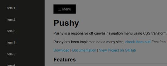 9) Pushy