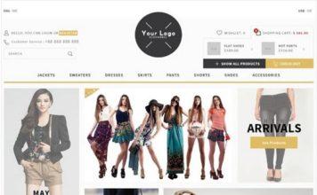 DV e-commerce Template