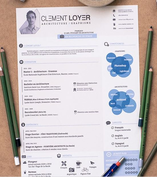 Nice 2015 Resume Template Intended For Attractive Resume Templates