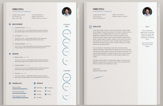 free resume templates 21 - Amazing Resume Templates