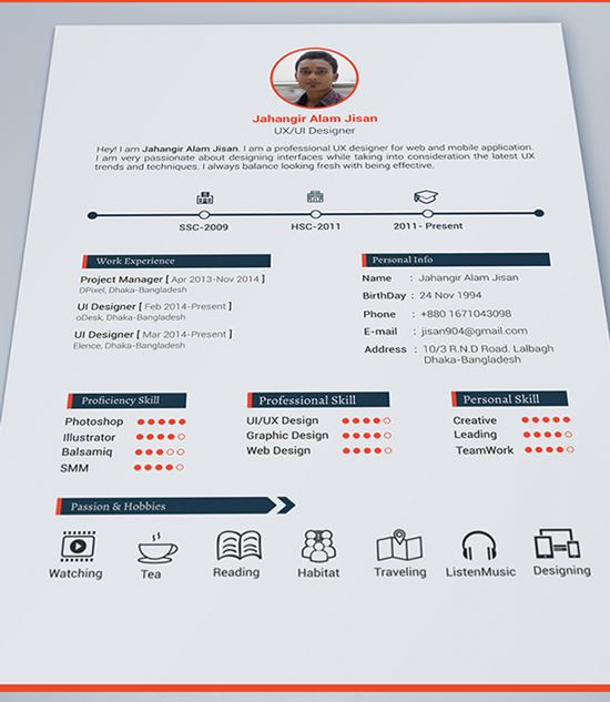 resume template - Free Resume Templates