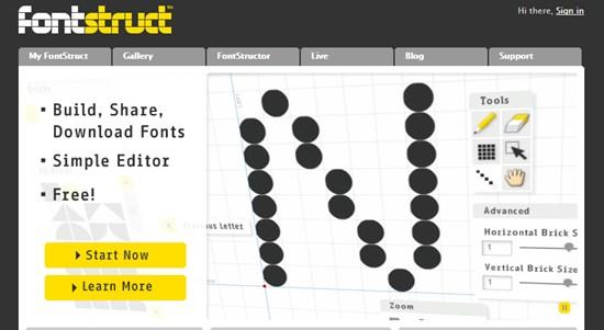 14) Fontstruct