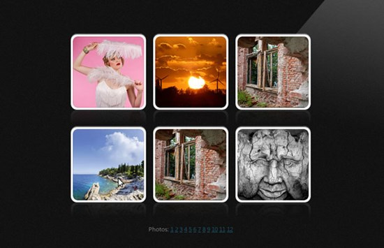 29) Live Album Previews with CSS3 and jQuery