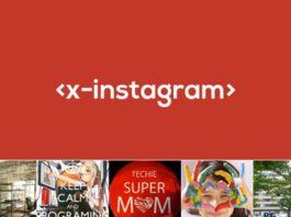4) X-Instagram